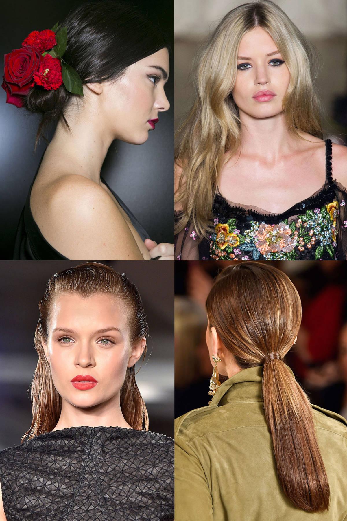 Awe Inspiring Best Hair Trends Spring 2015 Top Hairstyles For Spring As Seen Hairstyles For Women Draintrainus
