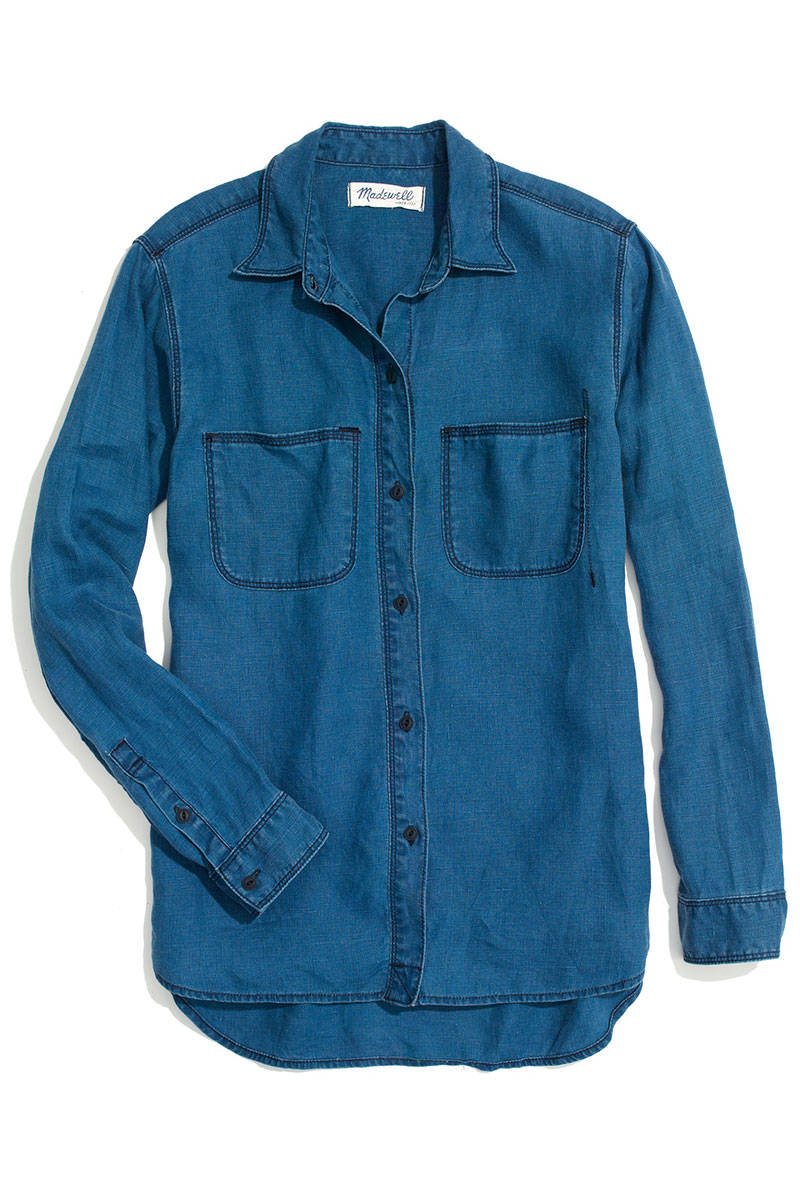 Best denim shirts how to wear denim shirts for Cuisine you chambray