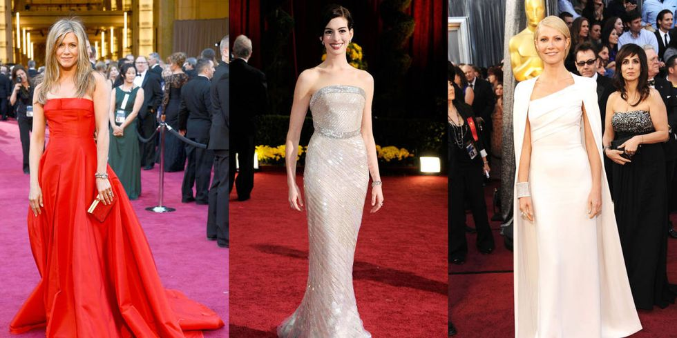 Designer Dresses Red Carpet 100 Best Red Carpet Dresses of