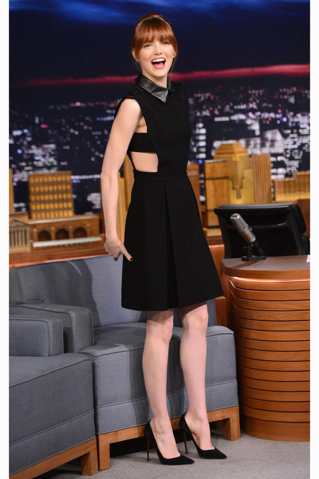 Emma Stone Spider-Man 2 Style - Emma Stone Red Carpet Looks Emma Stone Red Carpet Style