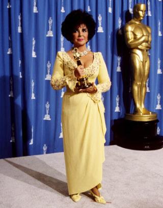 Elizabeth Taylor Yellow Wedding Dress