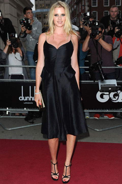 lara stone calvin klein dress - photo #15