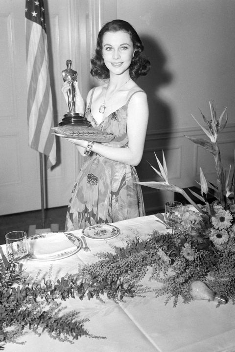 At the 1940 Academy Awards.<br />