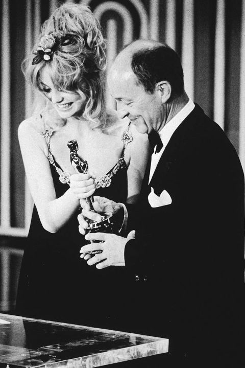 At the 1971 Academy Awards.<br />