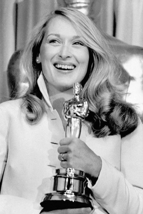 At the 1980 Academy Awards.<br />