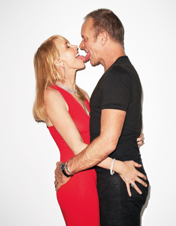Sting and trudie styler interview quotes from sting and trudie