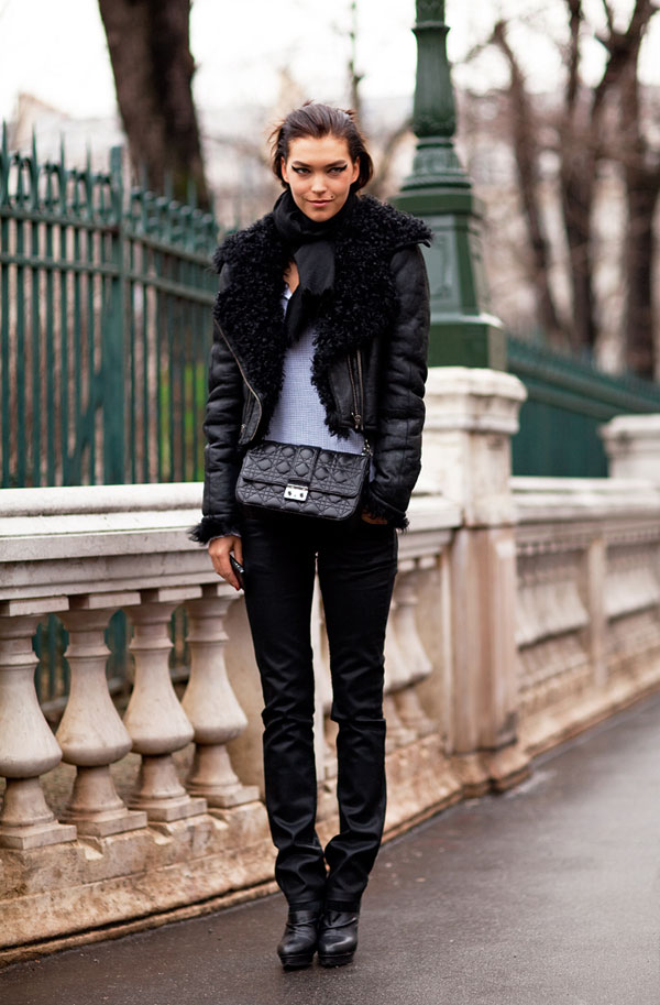 Paris Street Style - 2012 Haute Couture Parisian Street Style