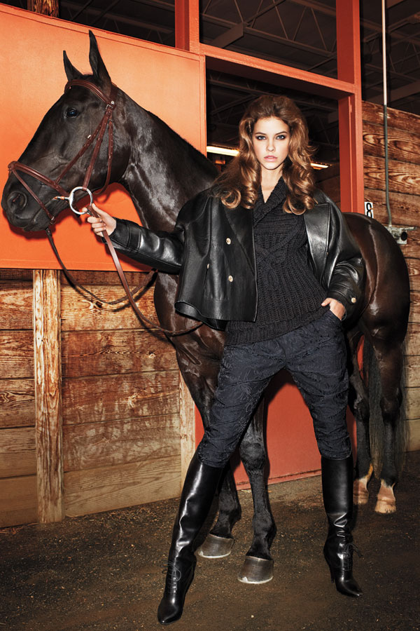 Equestrian Trend Fashion Shoot - Fall 2012 Equestrian Tend ...