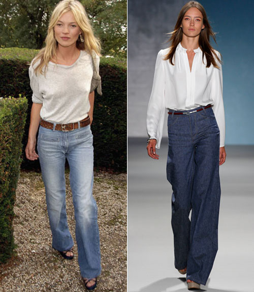 Wide Leg Jeans Trend How To Wear Wide Leg Jeans