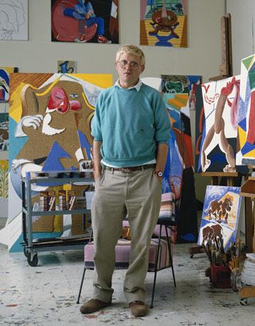 David hockney artist interview quotes from artist david for David hockney painting