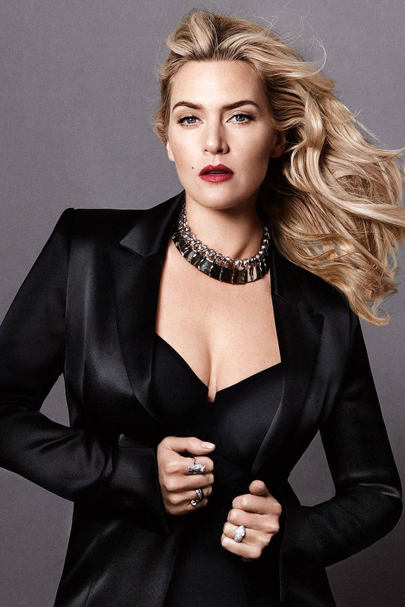 Kate Winslet Fashion Photography - Kate Winslet Photos Kate Winslet