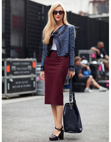 Editor Street Style New York Fashion Week Spring 2012