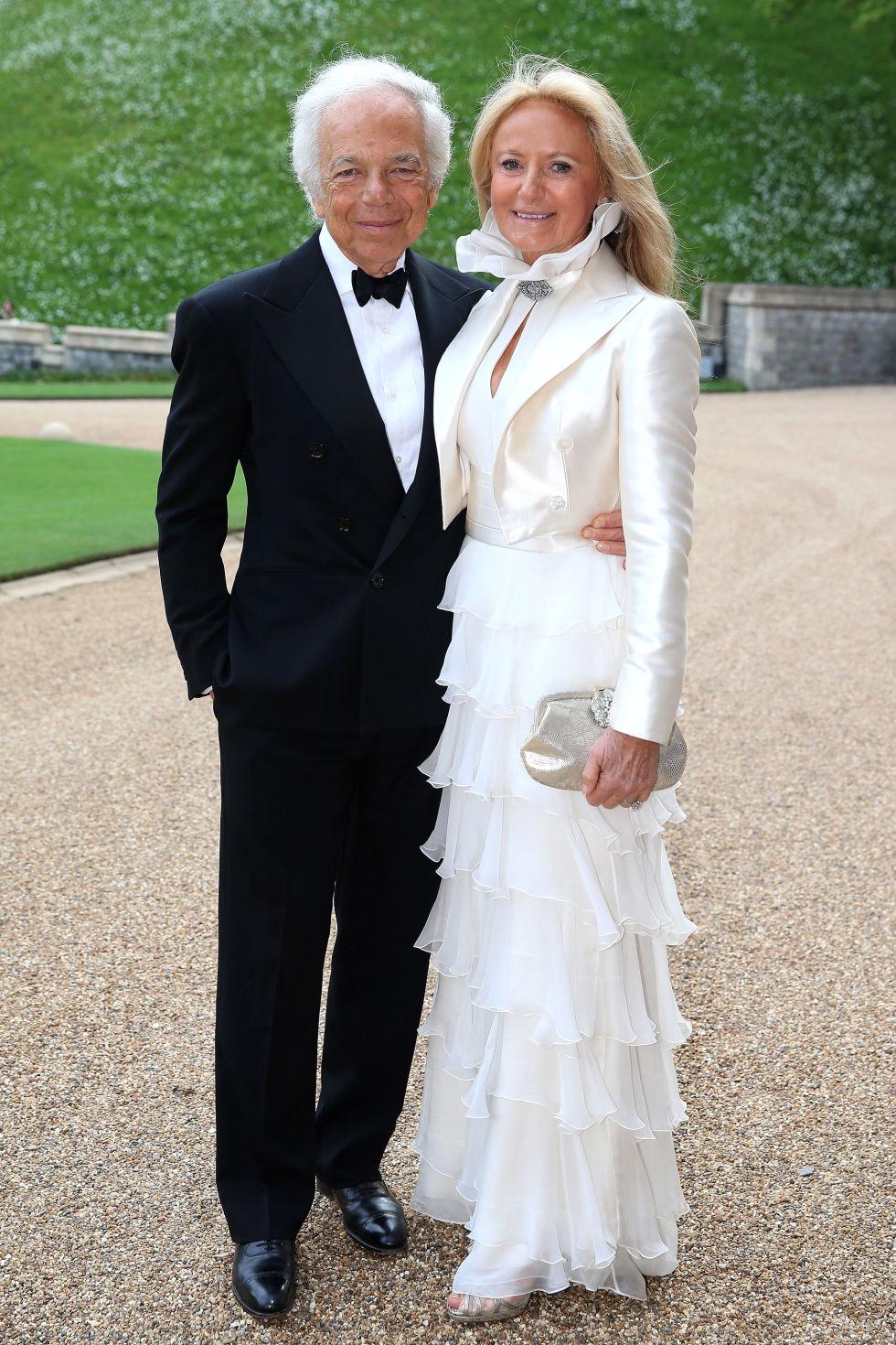 Ralph Lauren Royal Marsden Dinner At Windsor Castle