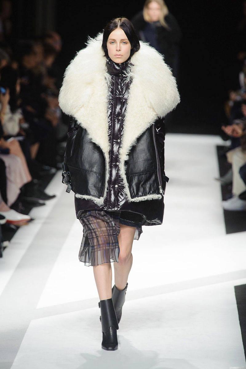Shearling Fall 2014 Trend - Shearling Jacket Winter Fall 2014 Trend