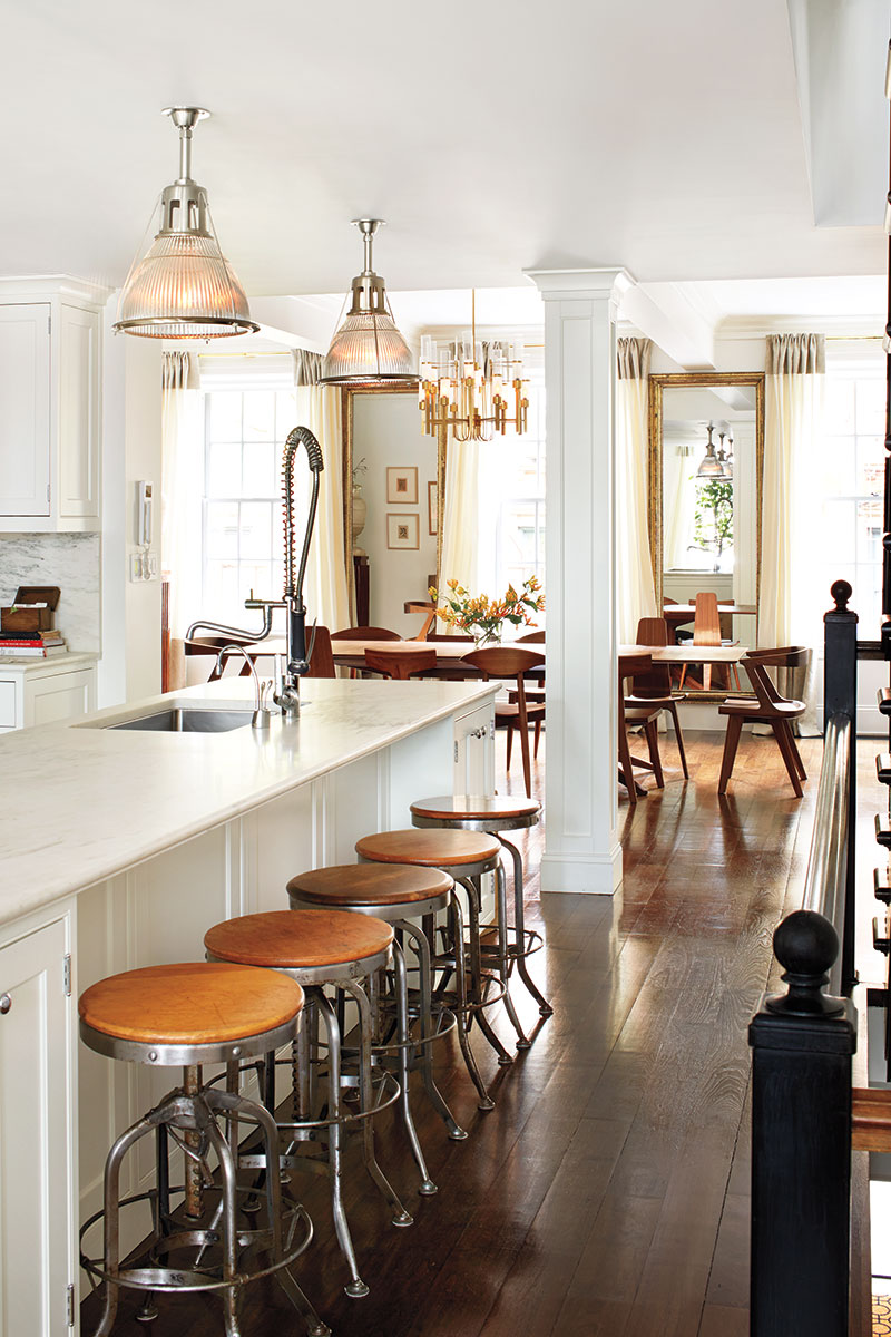 austin and gabriela hearst manhattan townhouse - interior design