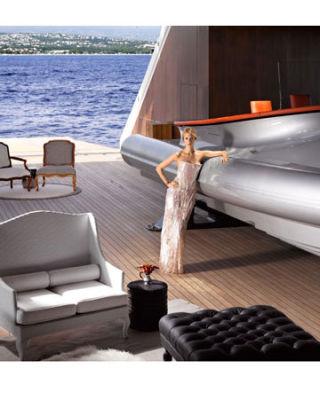 Aleksandra Melnichenko's Megayacht Photos - Photos of ...