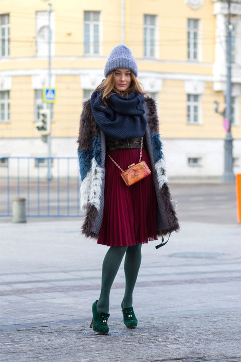 Moscow Street Style Best Street Style Looks From Moscow