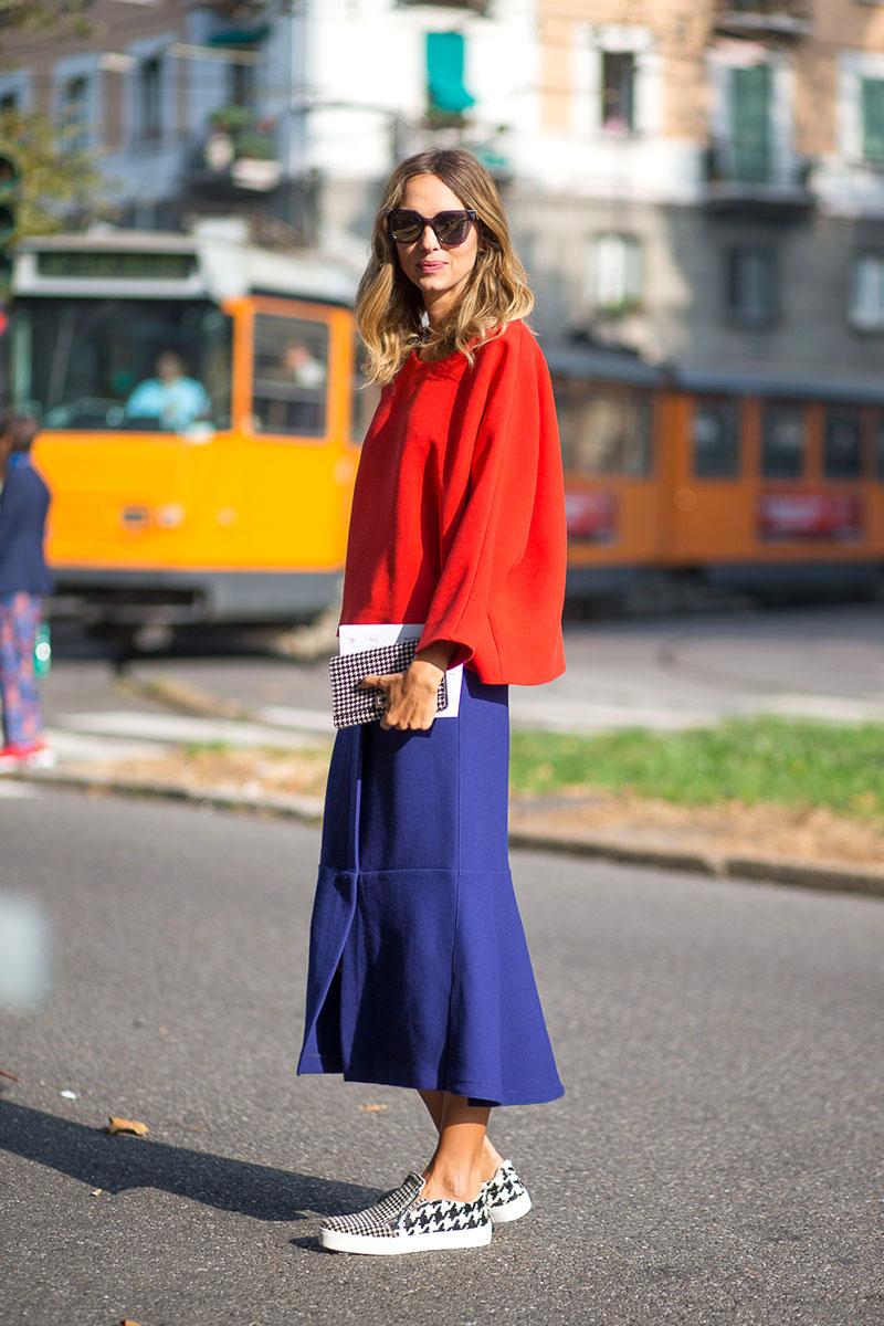 Street Style Milan Fashion Week Street Style Spring 2015