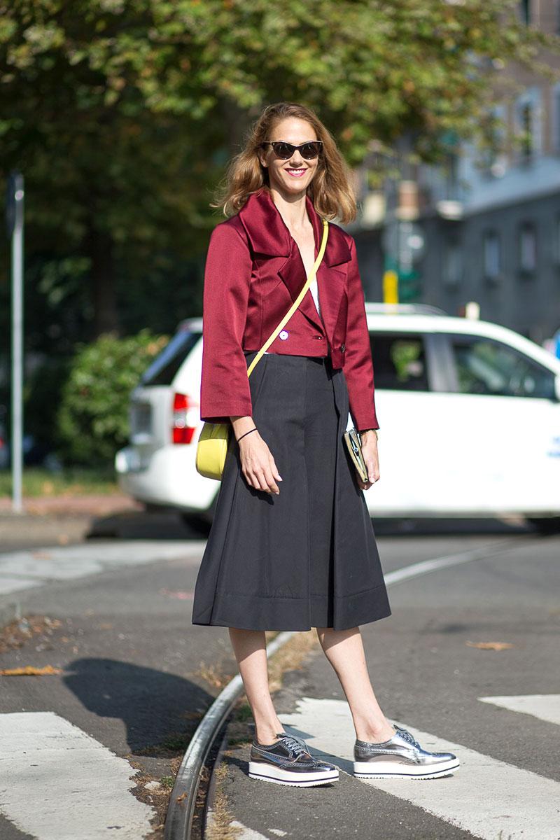 Milan Fashion Week Street Style Spring 2015