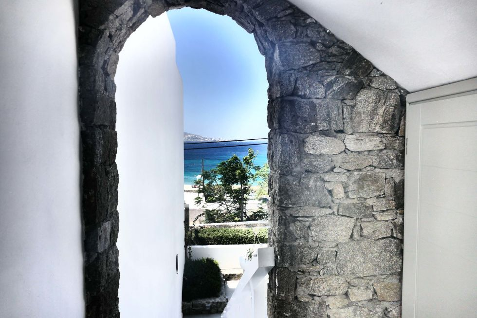 The Grace Mykonos, taken with Leica V-Lux...