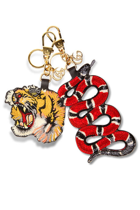 """If I unwrap anything Gucci, I'll be on cloud nine,"" says Personal Shopper & Stylist, Caroline Ekberg.Gucci charms, $370 each, shopBAZAAR.com."