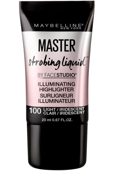 This new liquid highlighter has a pink tint perfect for lighter skin tones. Tap it on with your finger for a subtle glow, or drip a brush in it if you're a true magpie.Maybelline New York Master Strobing Liquid, $9.99, out next month.
