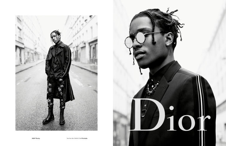 Dior Homme 2017 A$AP Rocky