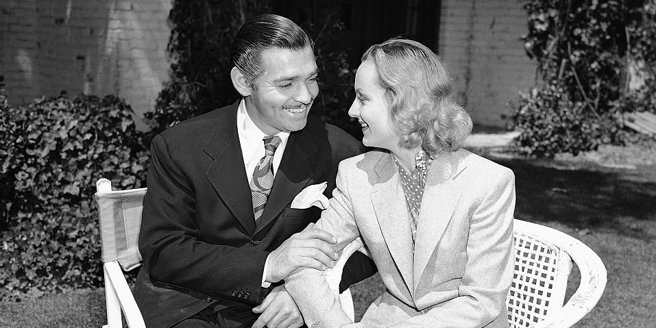Clark Gable and Carole Lombard, circa 1939
