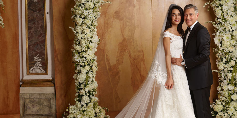 Image result for george clooney amal wedding